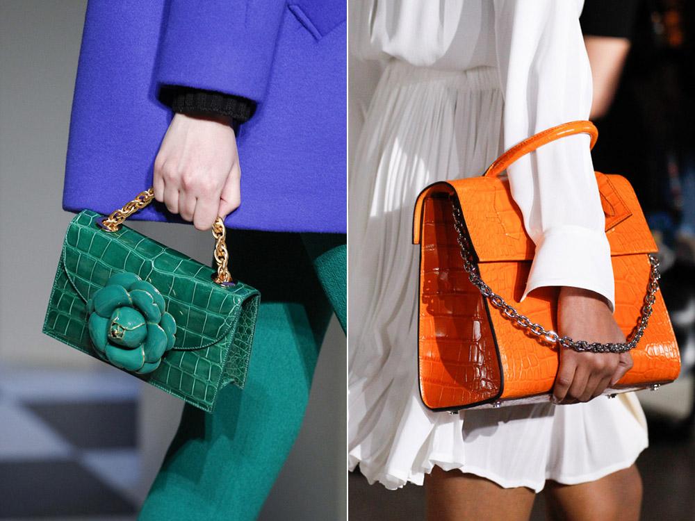 1760ed24434a Клатч или сумка через плечо средних размеров вполне впишутся в осенний  образ. Трендовые сумки 2018 года: модные тенденции — фото, осень: