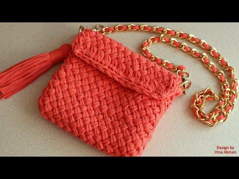 aa725b88ed8b Вязаные женские сумки. Вязаные сумки: богатство фантазии дизайнеров