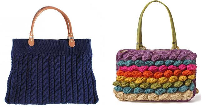 8efc7992 Женские вязаные сумки. Вязаные сумки – самые стильные модели и с чем ...