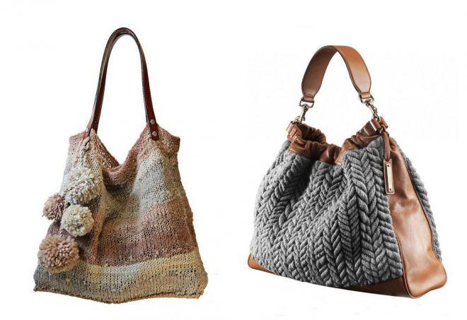 a6cd22f6ef75 Женские вязаные сумки. Вязаные сумки – самые стильные модели и с чем ...