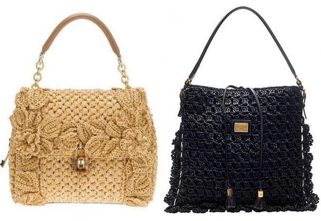 4effb8ac4837 Женские вязаные сумки. Вязаные сумки – самые стильные модели и с чем ...