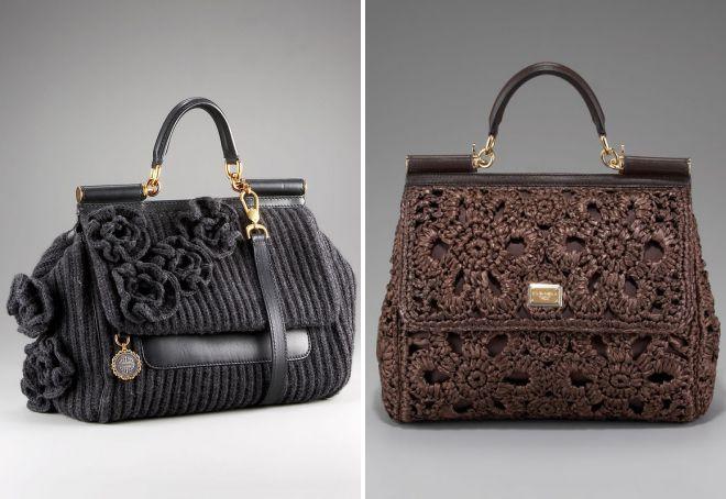 19c2cba65f97 Женские вязаные сумки. Вязаные сумки – самые стильные модели и с чем ...