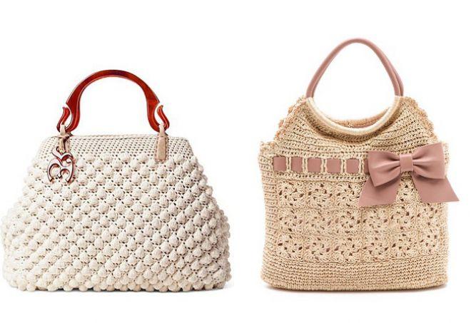 304c4e921d88 Женские вязаные сумки. Вязаные сумки – самые стильные модели и с чем ...