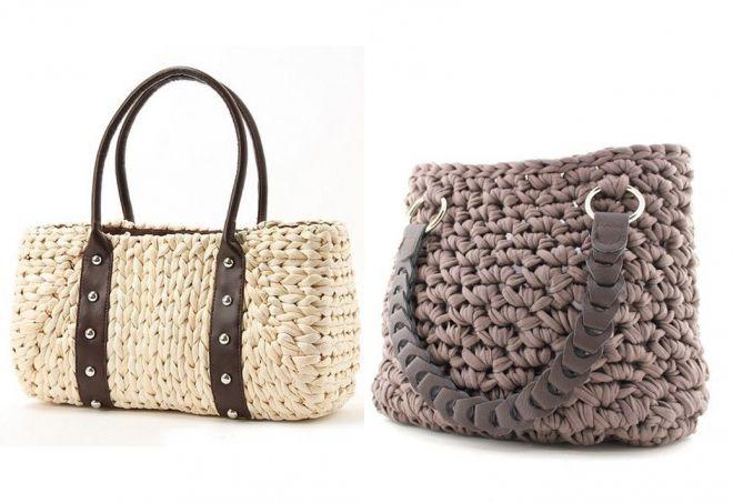 b2703e45b360 Женские вязаные сумки. Вязаные сумки – самые стильные модели и с чем ...