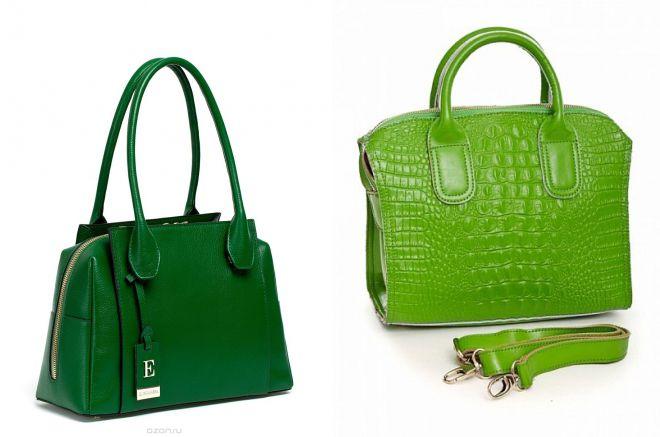 b1a0df3c1135 Женская сумка зеленая. Зеленая сумка – 24 фото стильных сумок ...