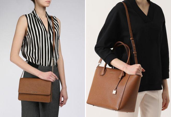 735bb5ddc6e7 Женская коричневая сумка. Коричневая сумка – как правильно сочетать ...