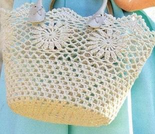 bce985cf66ea Крючком сумка женская. Как связать сумку крючком схемы: шесть ...